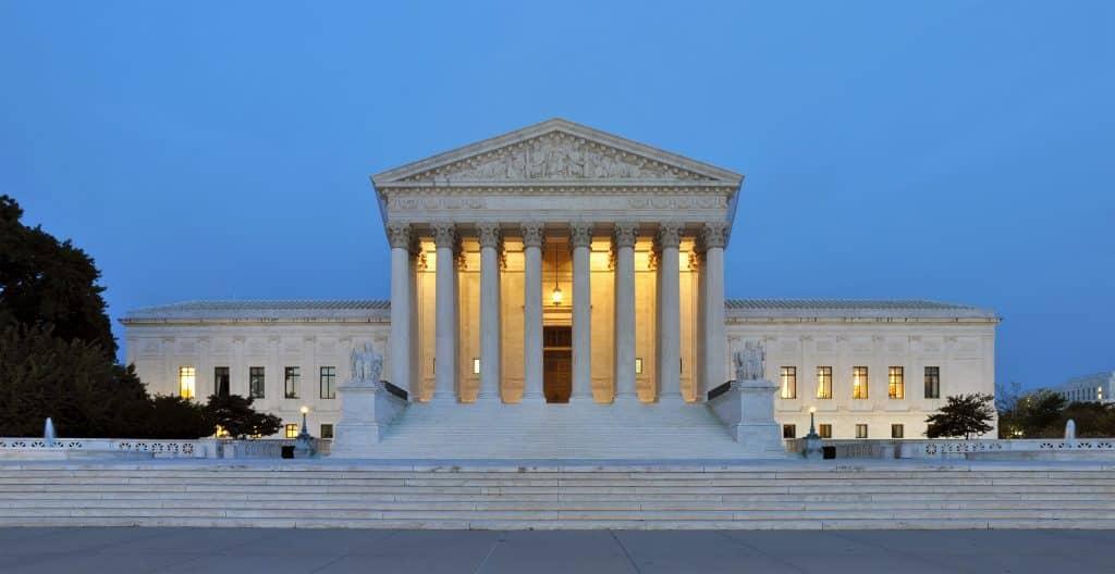 Supreme Court Gebäude in Washington, D.C.